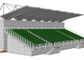Tickets For The First Covered Grandstand Erected At Circuit Gilles-Villeneuve Are Now On The Market