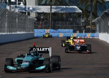 Andretti Autosport St Pete's Indy Lights Race 1 Report