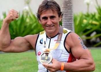 BMW Brand Ambassador Alessandro Zanardi Is Getting Ready To Tackle Two Long Distance Triathlons In 2017