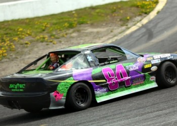 Lisa Deleeuw Podiums In B-Main, Posts Top-20 In Feature At Sunset Speedway