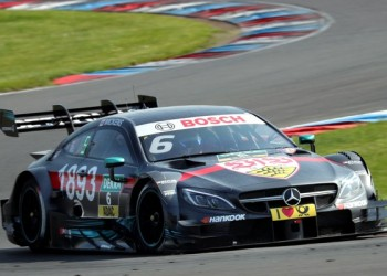 Fourth Podium In A Row For Robert Wickens At The Lausitzring