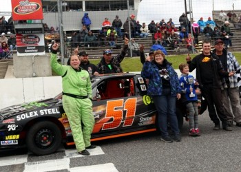 Eric Yorke Leads Flag-To-Flag in Spring Velocity At Sunset Speedway