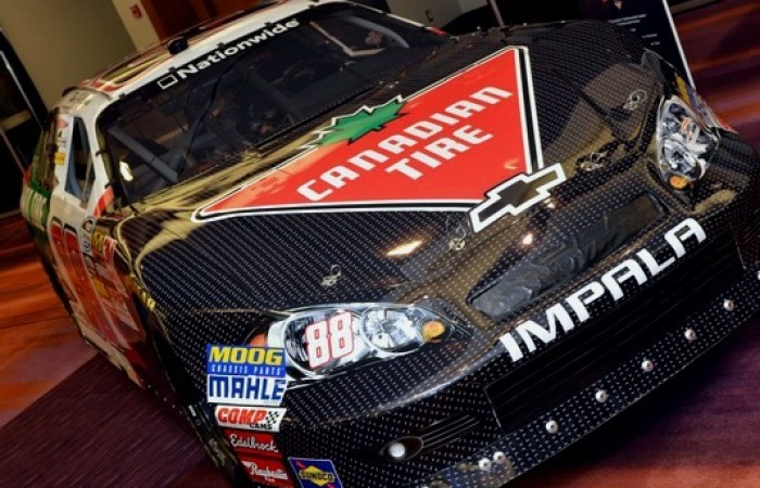 The Canadian Tire sponsored #88 Nationwide Series car