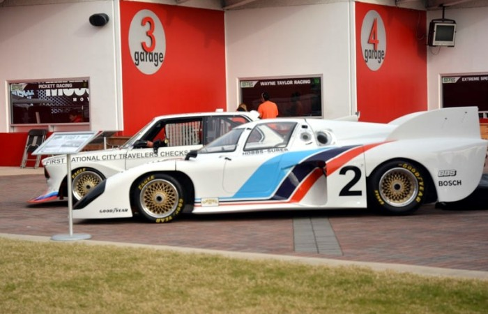 Some of the history on display at Daytona